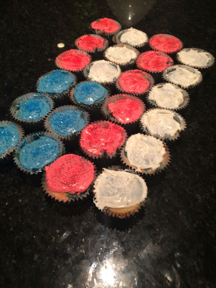 Made these for the forth of July!