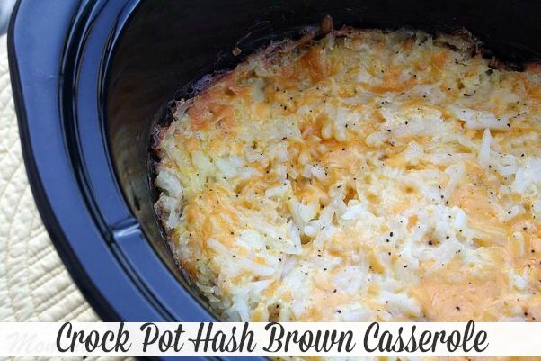 Mommy's Kitchen - Home Cooking & Family Friendly Recipes: Crock Pot Hash Brown Casserole {Great Holiday Side Dish}