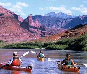 Moab Kayaking Trips with friends is super fun. We live close to several State and National parks and we love it!