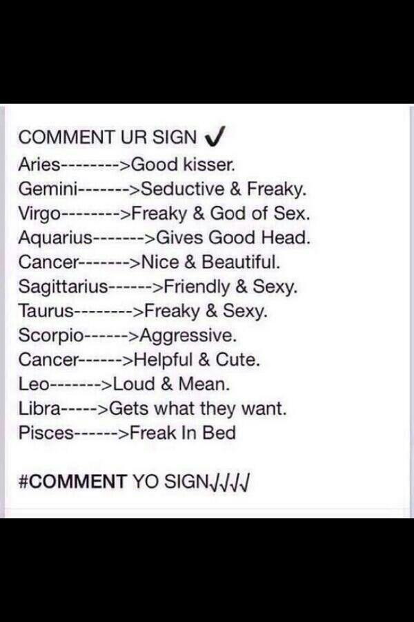 Zodiac Signs Sex Language