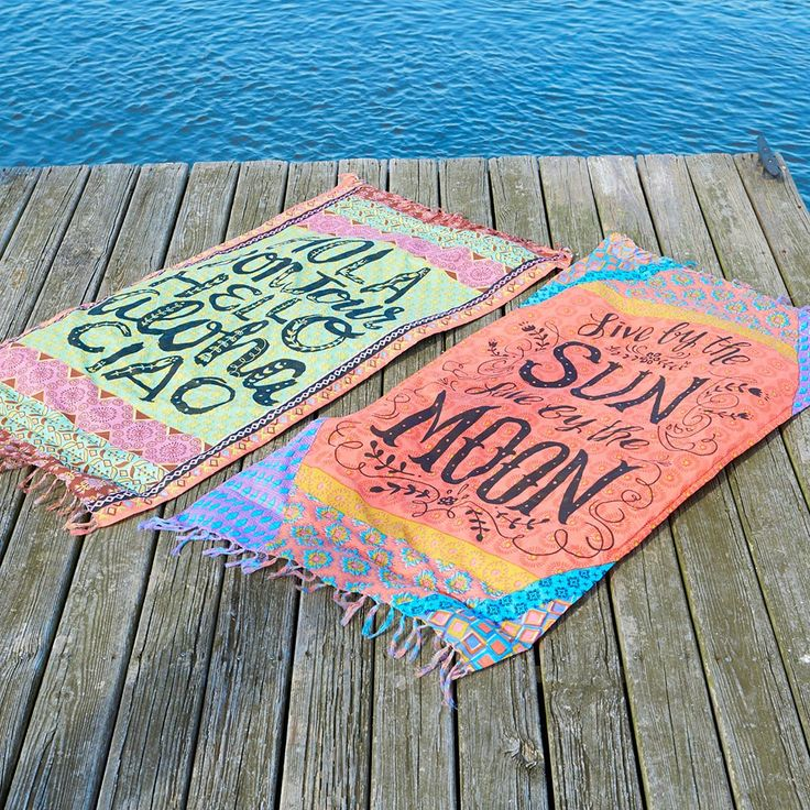 Have more fun in the sun with these cute Beach Towel Blankets! Use it as a towel or blanket or wear it like a sarong!