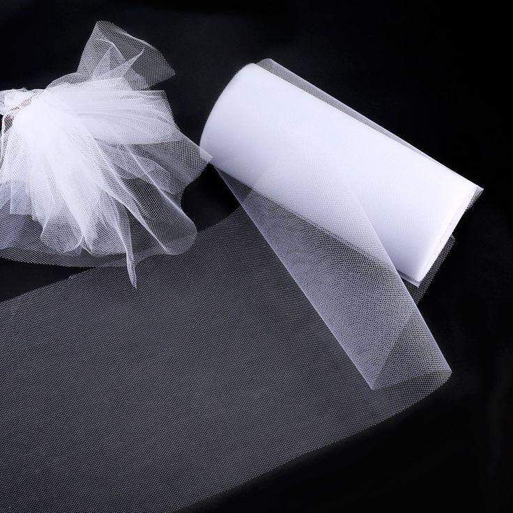 Tüll Roll, Foonii 22 * 15cm Tüll Tülldekostoff Tüllstoff pule Tutu Partei Geburtstag Wraping Crafts Braut Bogen Rock Hochzeit Dekor (Weiß und See blau): Amazon.de: Küche & Haushalt