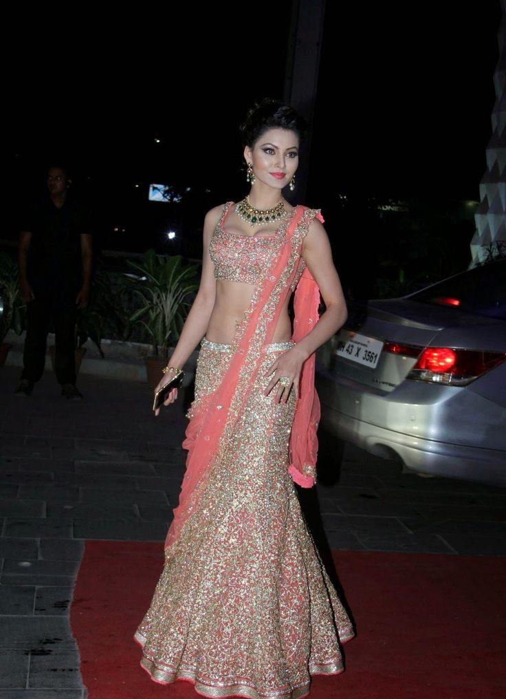 Urvashi Rautela Revealing Her Amazing Figure at Tulsi Kumar's Wedding