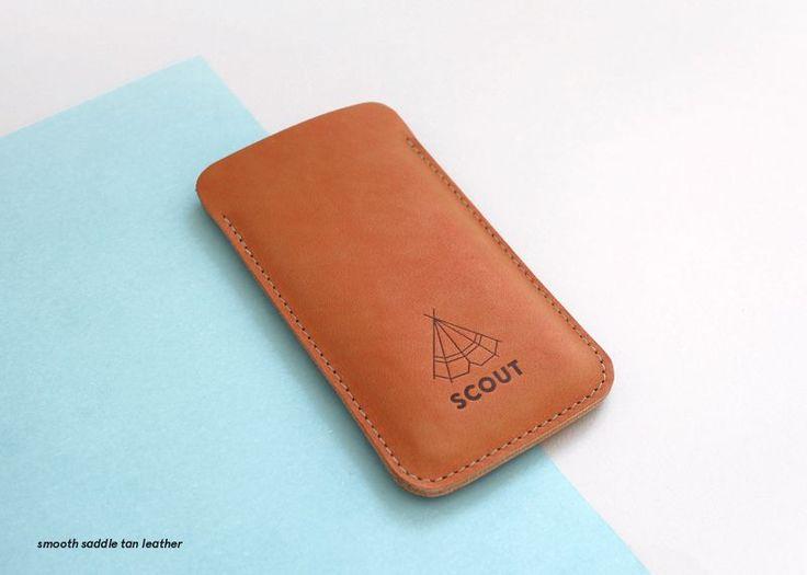 Scout Supply - Housse en cuir Iphone 6+