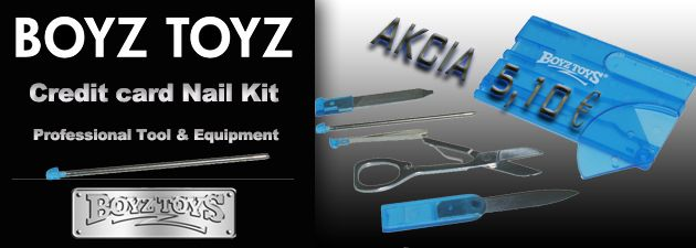 Boyz Toys travel nailo kit 5,10 € http://www.coolish.sk