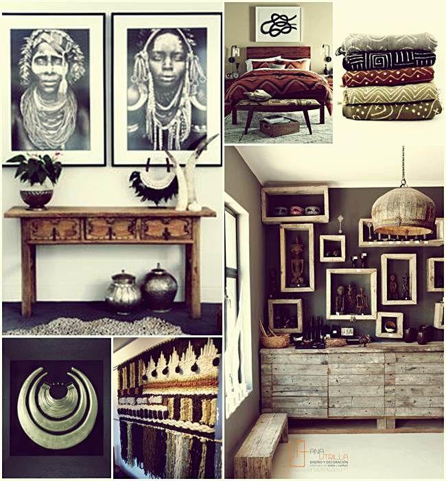 Espacios interiores de estilo étnico