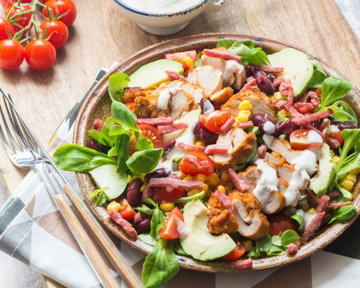 17 meilleures id es propos de salades au poulet for Idee d entree rapide