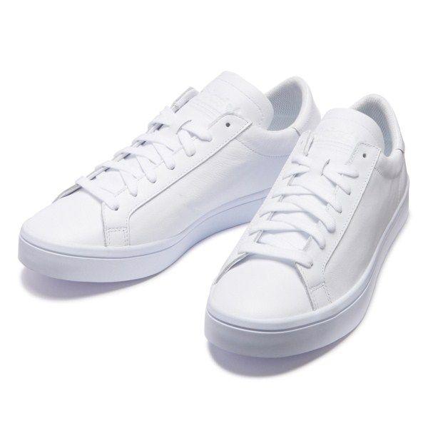 【ADIDAS】 アディダスオリジナルス COURTVANTAGE コートバンテージ S76210 16FA WHT/WHT/WHT通販 | ABC-MARTオンラインストア 【公式】靴とスポーツウェアの通販