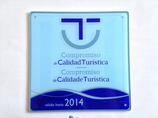 Compromiso de Calidad Turística  Hotel Nuevo Vichona #Sanxenxo  www.nuevovichona.com #hotel #nuevovichona #Galicia