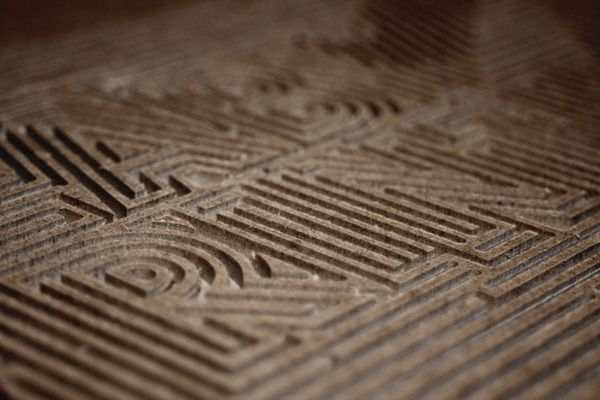 Love this: Labyrinth by Hilka Riba, via Behance