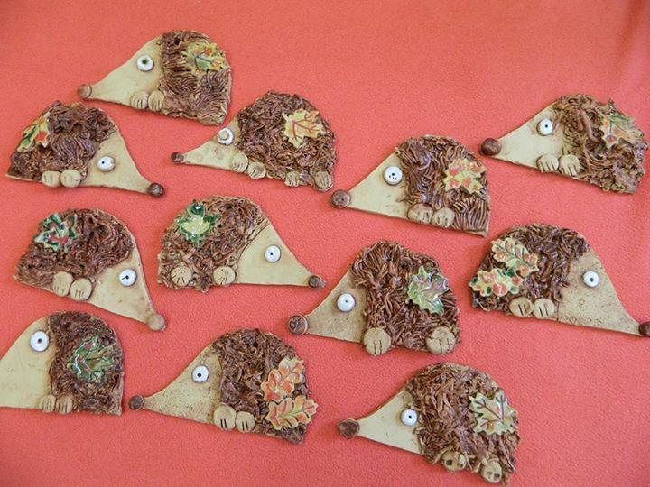 Keramika - ježci