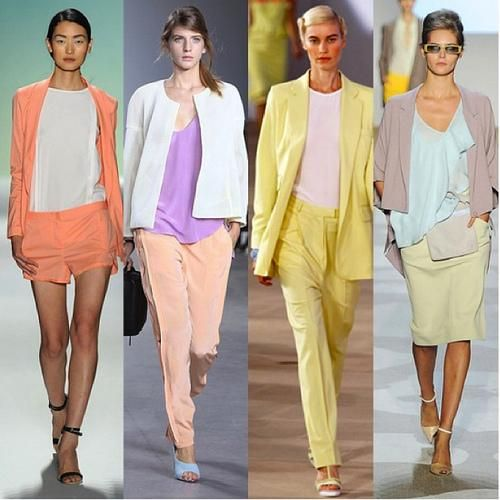 head-to-toe pastels #spring #summer #fashion