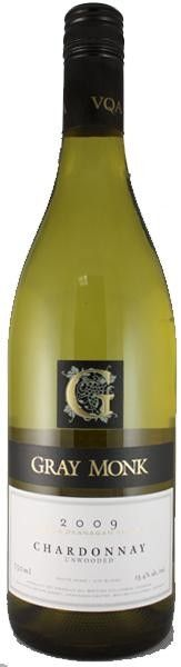 Gray Monk Unwooded Chardonnay 750 mL