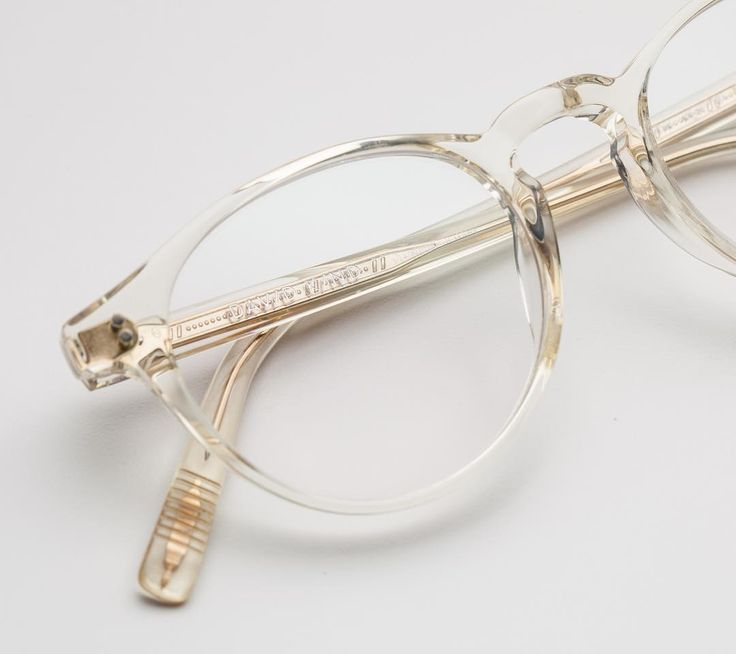 A clear choice...of glasses! The Richmond optical frames in Citrine Quartz is one of our most popular styles, for both men and women!