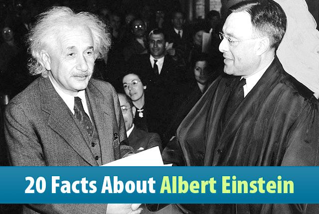 20 facts about albert einstein http://didyouknowscience.com/20-facts-about-albert-einstein/