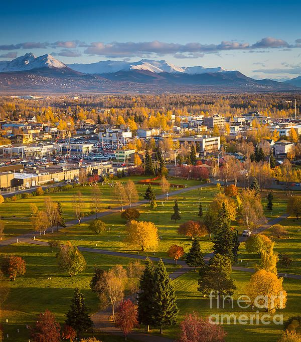 how to get to anchorage alaska