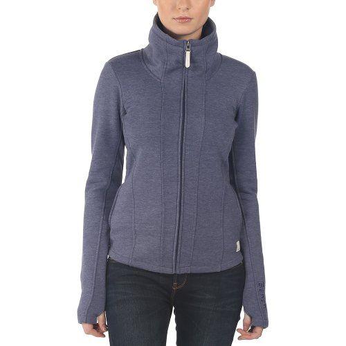 Bench Damen Sweatshirt Sweatjacke Hallrule B blau (Deep