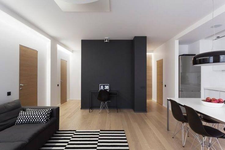 Một căn hộ 50m2 ấm cúng trẻ trung năng động phù hợp cho đôi vợ chồng mới cưới được đầu tư với giá 200 tr cho toàn bộ nội thất căn hộ.  Mọi chi tiết xin liên hệ Housedesign.vn 0973990339 .