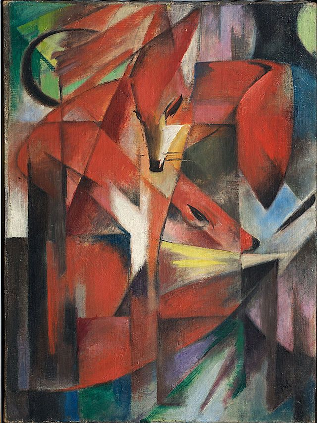 Franz Marc - The Foxes - Google Art Project - Franz Marc - Wikipedia, the free encyclopedia