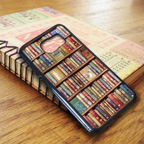 Bookshelf Book Shelf Samsung Galaxy S6 Edge Case