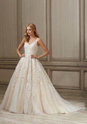 e979b09fffc Adrianna Papell Platinum Ember Ball Gown Wedding Dress