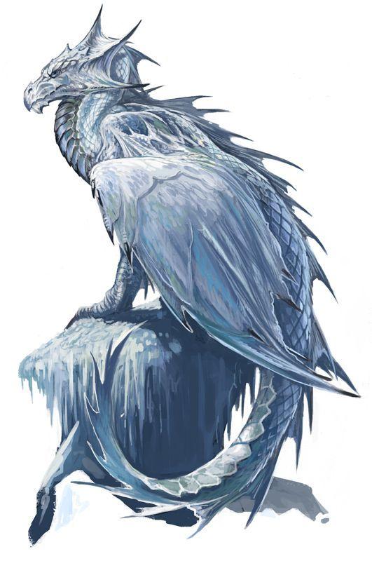 blue ice dragon