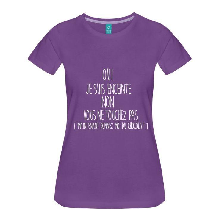 Super Les 25 meilleures idées de la catégorie T shirt femme enceinte sur  NX32