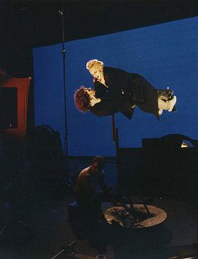 """Behind the scenes on """"The Lost Boys""""."""
