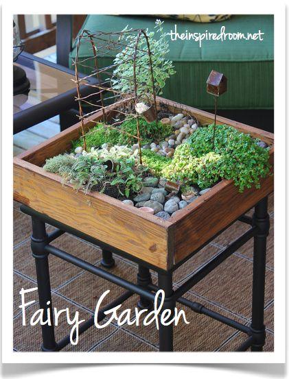 Pretty Fairy Garden.