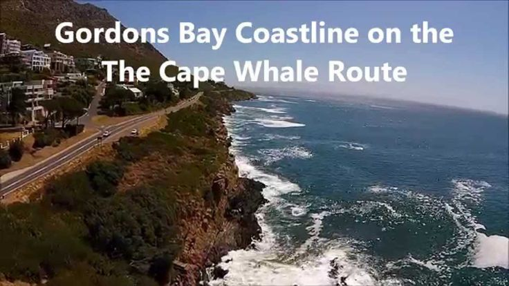 Gordons Bay coastline - starting point of the Cape Whale Route along Clarence Drive - Cape Town - South Africa.