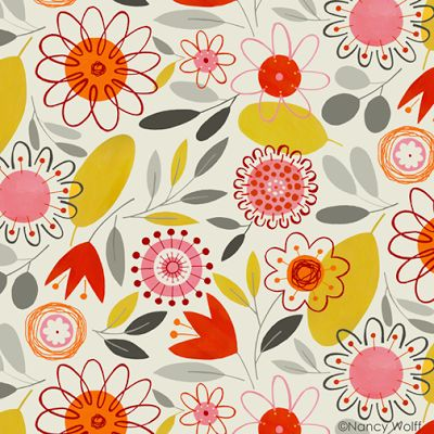 Nancy Wolff #illustration #color