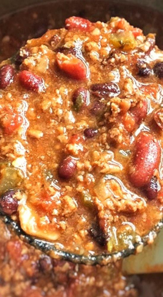 Beef Chili (Pressure Cooker).                                                                                                                                                                                 More