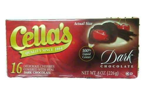 Cellas Dark Chocolate Covered Cherries 8 oz  16 CT Pack of 2 * Check out the image by visiting the link.