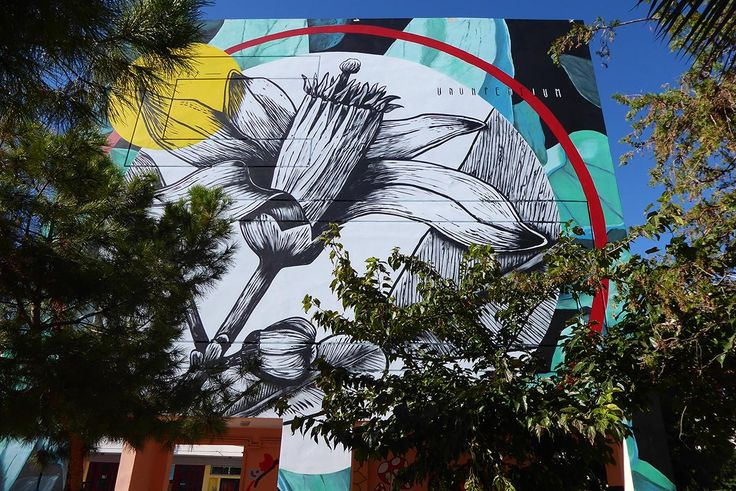 Fabio Petaniis an Italian artist who participates in this year'sAthens Street Art Festival. A distinctive feature of his' are the floral murals he creates that amaze us with the harmonization of … #streetart #greece