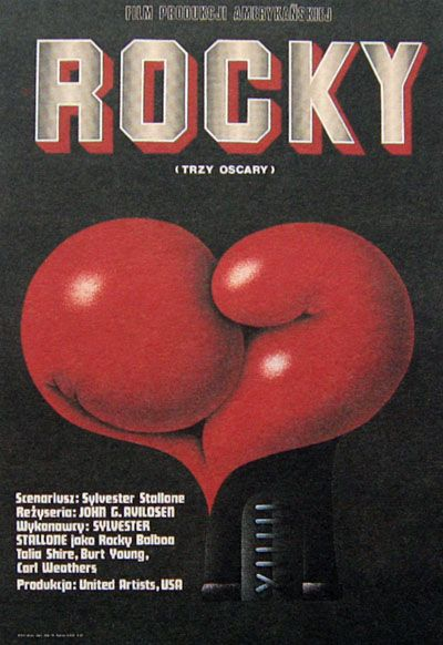 #polishdesign #movieposter #rocky