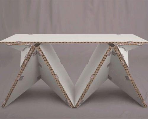 Superior Petar Zaharinov Provides An Interactive Furniture Solution With Tapeflips
