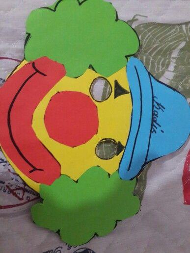 Okul öncesi çocuklar için Maske etkinliği