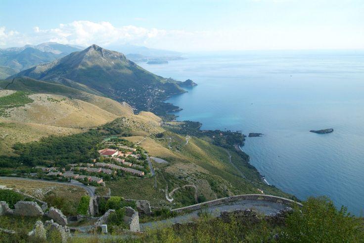 Scorcio dal Promontorio - Maratea