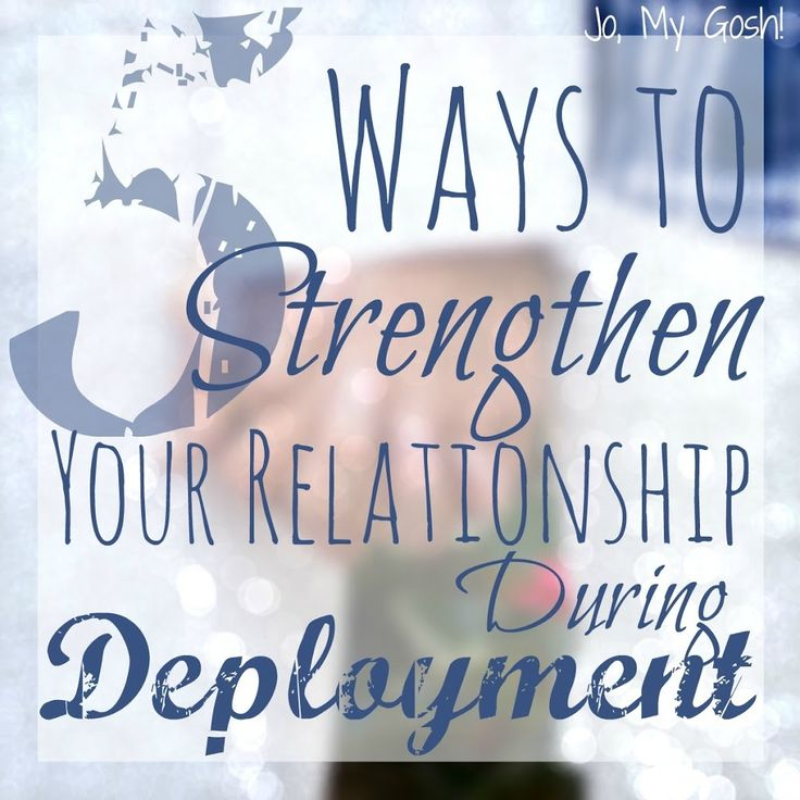 How to strengthen your relationship during deployment! Love these military life tips!