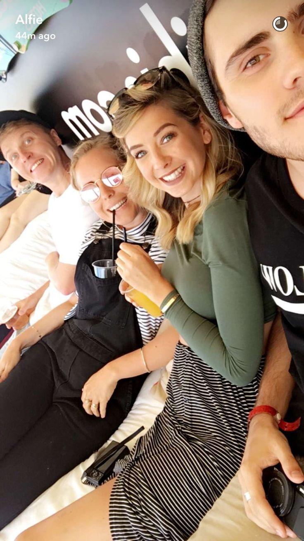 Sean, Poppy, Zoe and Alfie