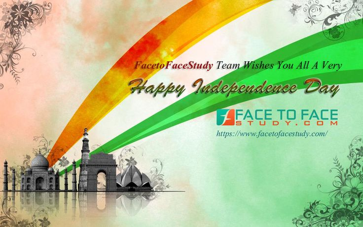 Facetofacestudy Team Wishes you a Happy Independence Day 2015 15th August #IndependenceDay #happyIndependenceDay  #69thHappyIndependenceDay #15thAugust2015  #15thAugust1947