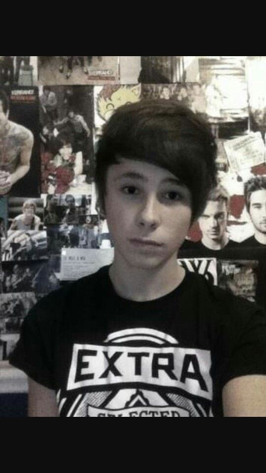 Adrian Howell. Dan's brother. <<<omg I don't know wether ur joking or not<< It's real, I'm happy he's living
