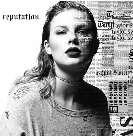 Taylor swift is releasing a new album called 'reputation'! Can't wait!!! This is her album cover!