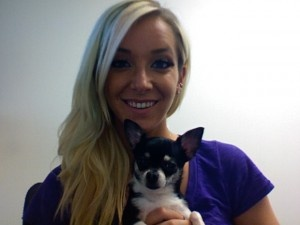 JENNA MARBLES! Youtube that crazy bitch now! love her!!! <3