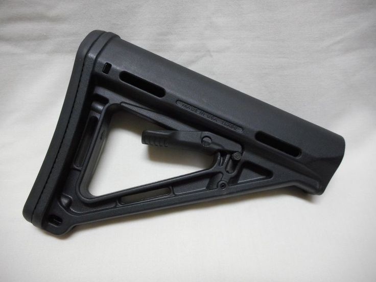 MAGPUL MOE STOCK 1LX50, BLACK, USED #MAGPUL