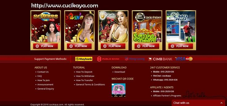 Cucikaya offers a wide range of online casino games with fresh bonuses for players. Where you can play the best casino games