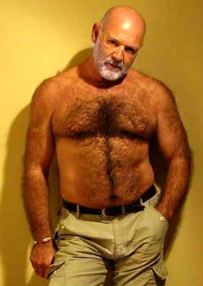 Bears and hairy men