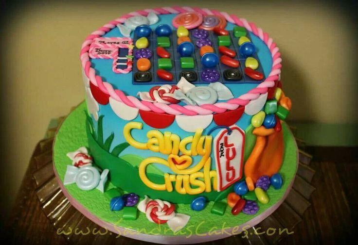 Candy Crush cake * too cute