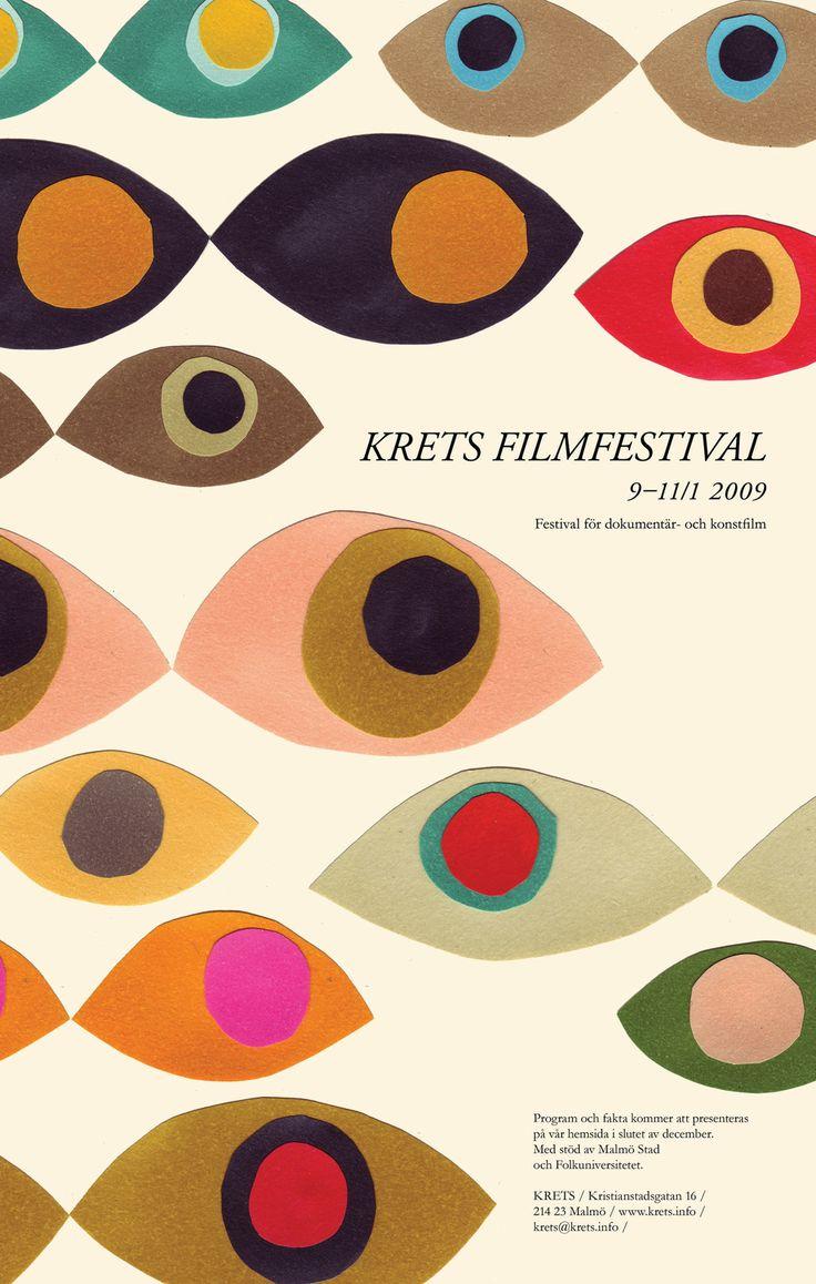 Krets Filmfestival - Sandra Juto, paper cut collage.