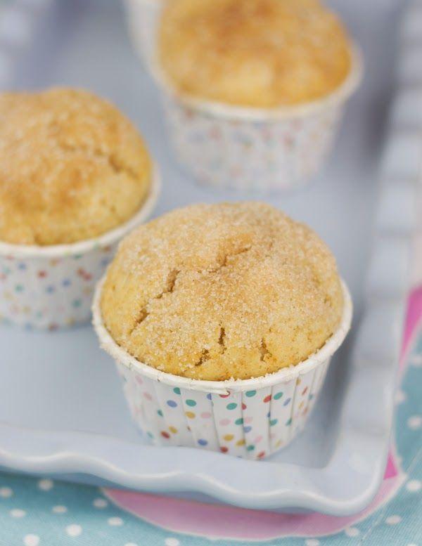 Objetivo: Cupcake Perfecto.: Muffins de donut. O de canela. O de lo que quiera ...